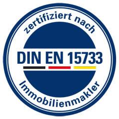 Immobilienmakler zertifiziert nach DIN EN 15733